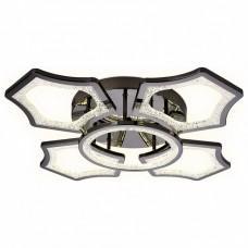 Накладной светильник Ambrella Original 3 FA576/4+1 DCH черный хром 106W 620*620*120 (ПДУ РАДИО 2.4G)