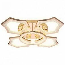 Накладной светильник Ambrella Original 3 FA577/4+1 GD золото 106W 620*620*120 (ПДУ РАДИО 2.4G)
