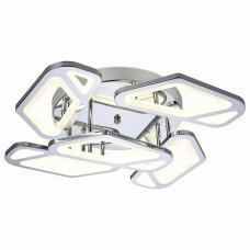 Накладной светильник Ambrella Original 5 FA588/5 CH хром 113W 590*590*120 (ПДУ РАДИО 2.4G)