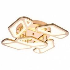 Накладной светильник Ambrella Original 5 FA589/5 GD золото 113W 590*590*120 (ПДУ РАДИО 2.4G)