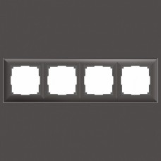 Рамка на 4 поста Werkel WL14 WL14-Frame-04 (Серо-коричневый)
