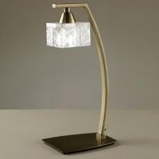Настольная лампа декоративная Mantra Zen Antique Brass 1437