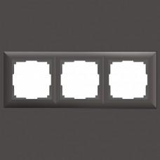 Рамка на 3 поста Werkel WL14 WL14-Frame-03 (Серо-коричневый)