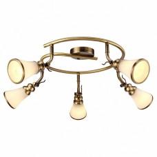 Спот Arte Lamp Vento A9231PL-5AB