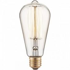 Лампа накаливания Elektrostandard ST64 60W E27 60Вт 3300K a034964