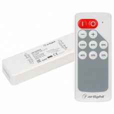 Пульт-диммер кнопочный Arlight ARL-MIN ARL-MINI-DIM-1x11A (5-24V, RF ПДУ 10кн)