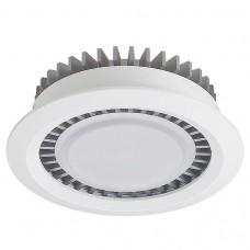 Встраиваемый светильник Ideal Lux Turbo TURBO 142.1-10W-WT/GR