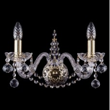 Бра Bohemia Ivele Crystal 1411 1411B/2/160/G/Balls