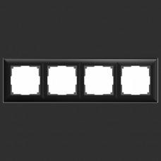 Рамка на 4 поста Werkel WL14 WL14-Frame-04 (Черный)
