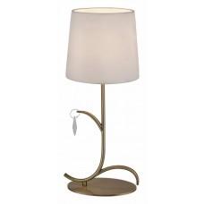 Настольная лампа декоративная Mantra Andrea Cuero Satinado 6339
