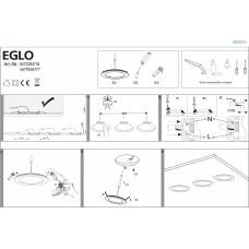 Комплект из 3 встраиваемых светильников Eglo ПРОМО Fueva 1 94732