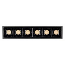 Встраиваемый светильник Arlight MAG-LASER-45-L160-6W Day4000 (BK, 15 deg, 24V) 026934