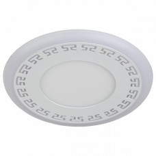 Встраиваемый светильник Эра DK LD12 DK LED 12-6 WH