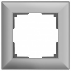 Рамка на 1 пост Werkel WL14 WL14-Frame-01 (Серебряный)