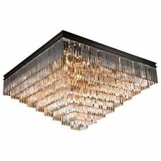 Накладной светильник Newport 31100 31133/PL black+gold