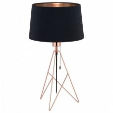 Настольная лампа декоративная Eglo Camporale 39178