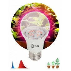 Лампа светодиодная Эра  E27 9Вт 1310K A60-12S 9W DR/B PPF1.4umol/J Filcker 10%