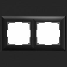 Рамка на 2 поста Werkel WL14 WL14-Frame-02 (Черный)