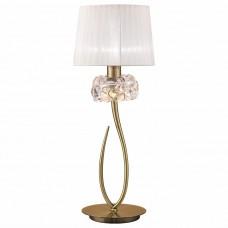 Настольная лампа декоративная Mantra Loewe 4736