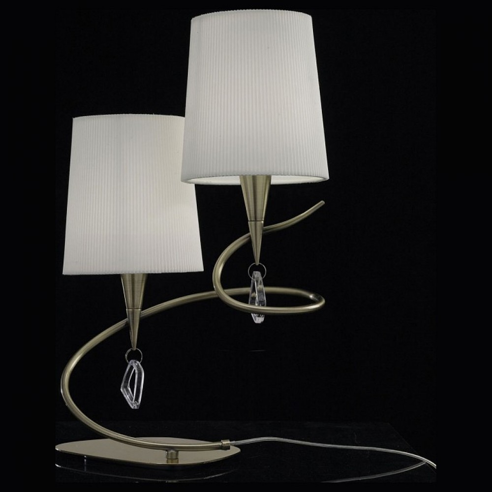 Настольная лампа декоративная Mantra Mara 1631