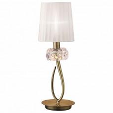 Настольная лампа декоративная Mantra Loewe 4737