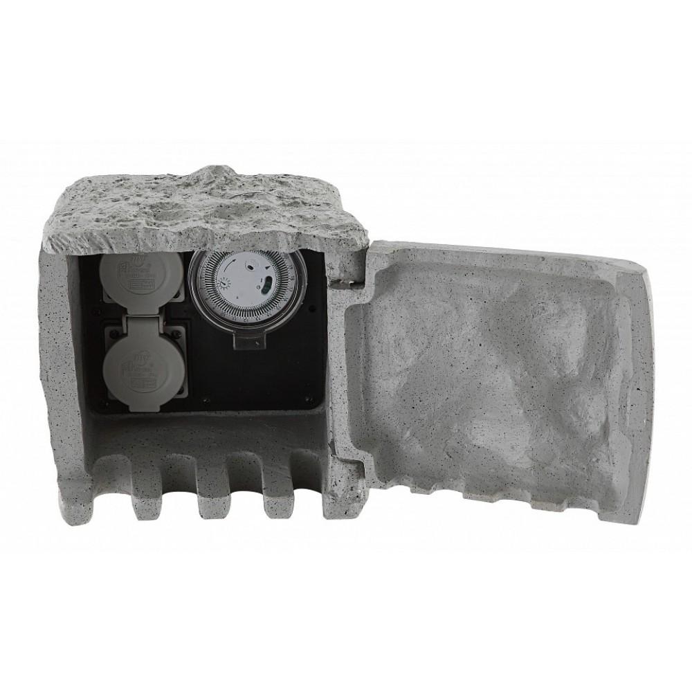 Блок розеток наземный Globo Pietra I 37001-2Z