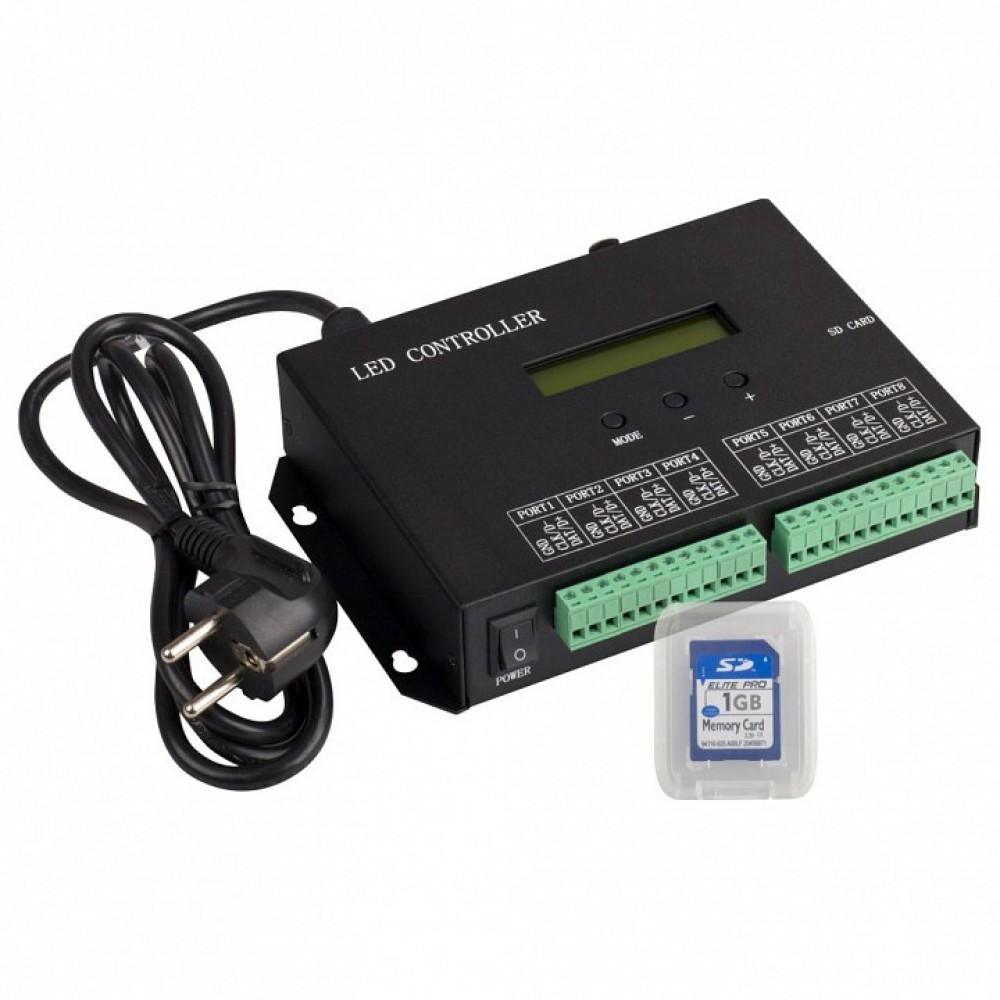 Контроллер Arlight HX-803S HX-803SA DMX (8192 pix, 220V, SD-карта)