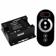 Контроллер-диммер с пультом ДУ Arlight LN-RF6B LN-RF6B-Sens Black (12-24V, 3x8A)