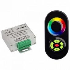 Контроллер-регулятор цвета RGB с пультом ДУ Arlight LN-RF5B LN-RF5B-Sens Black (12-24V,180-360W)