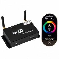 Контроллер-регулятор цвета RGB с пультом ДУ Arlight LN-WiFi LN-WiFi-SPI (5/24V, ПДУ)