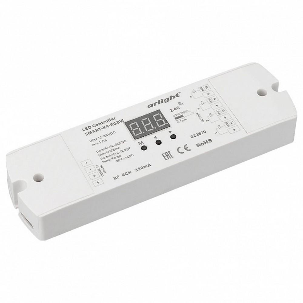 Контроллер-регулятор цвета RGBW Arlight SMART-K SMART-K4-RGBW (12-36V, 4x350mA)