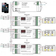 Контроллер-регулятор цвета RGBW Arlight SR-2817 DMX SR-2817 (220V, 8 зон)