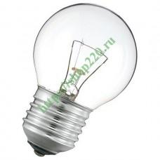 Лампа накаливания Imex Osram E27 60Вт 2700K P45 CL 60W E27 OSRAM CLAS