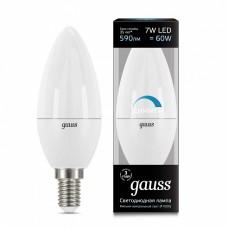 Лампа светодиодная Gauss 1031 E14 7Вт 4100K 103101207-D