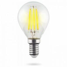 Лампа светодиодная Voltega Crystal E14 6Вт 2800K VG10-G1E14warm6W-F