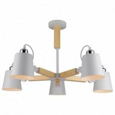 Люстра на штанге Arte Lamp 7141 A7141PL-5WH