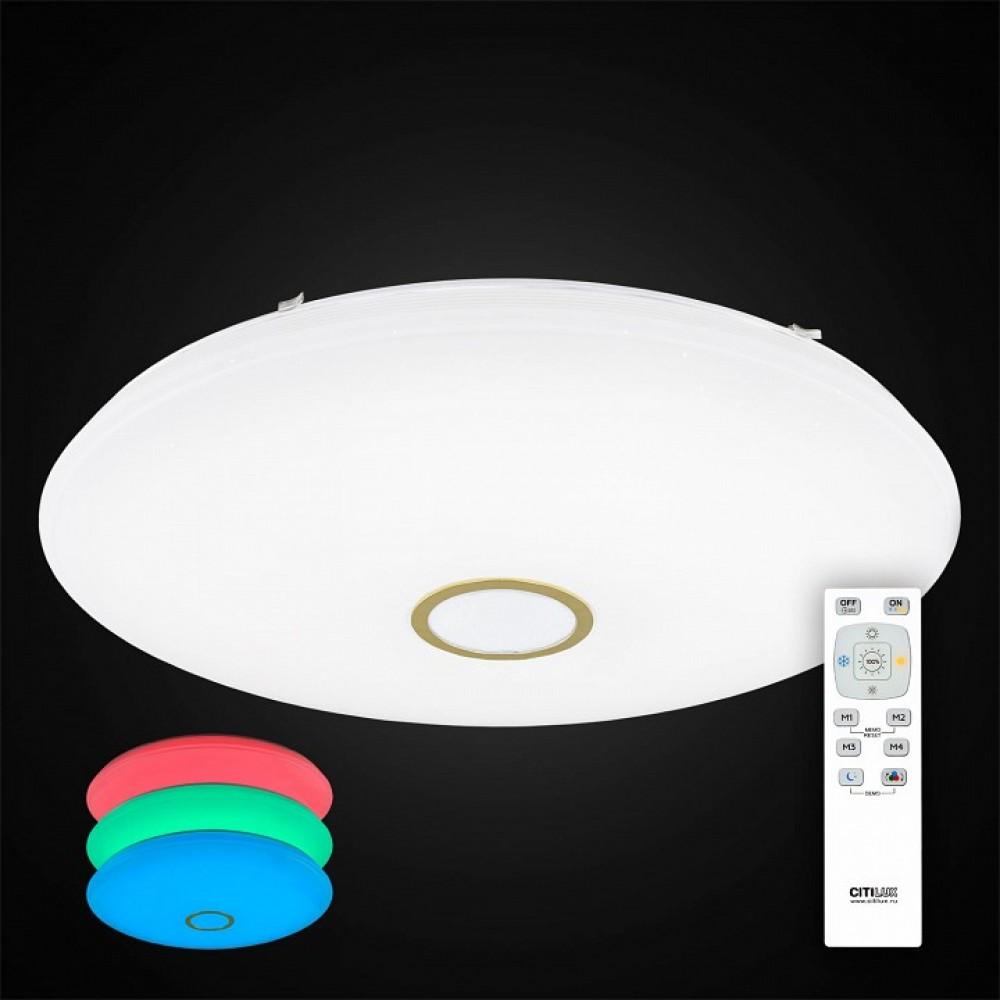 Накладной светильник Citilux Старлайт CL703142RGB