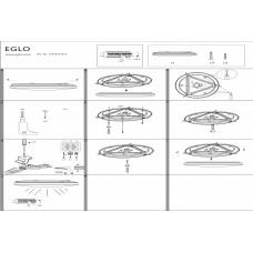 Накладной светильник Eglo Frania 97872