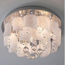 Накладной светильник Eurosvet 80117 80117/8 хром/белый
