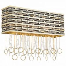 Накладной светильник Lucia Tucci Perso PERSO W4930.3 gold&black