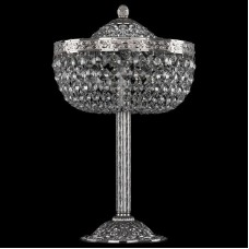 Настольная лампа декоративная Bohemia Ivele Crystal 1911 19111L6/25IV Ni