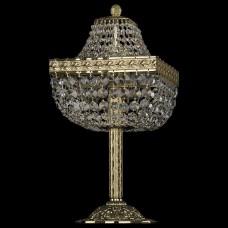 Настольная лампа декоративная Bohemia Ivele Crystal 1911 19112L6/H/20IV G