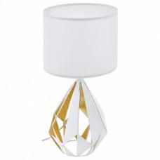 Настольная лампа декоративная Eglo Carlton 5 43078