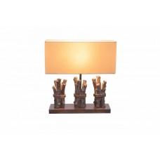 Настольная лампа декоративная Globo Jamie 21649