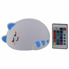 Настольная лампа-ночник Эра NLED-415 NLED-415-2W-BU