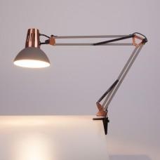 Настольная лампа офисная Eurosvet Worker 01021/1 серый