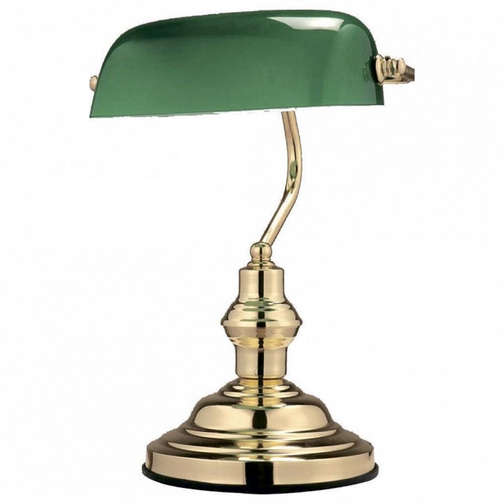 Настольная лампа офисная Globo Antique 2491