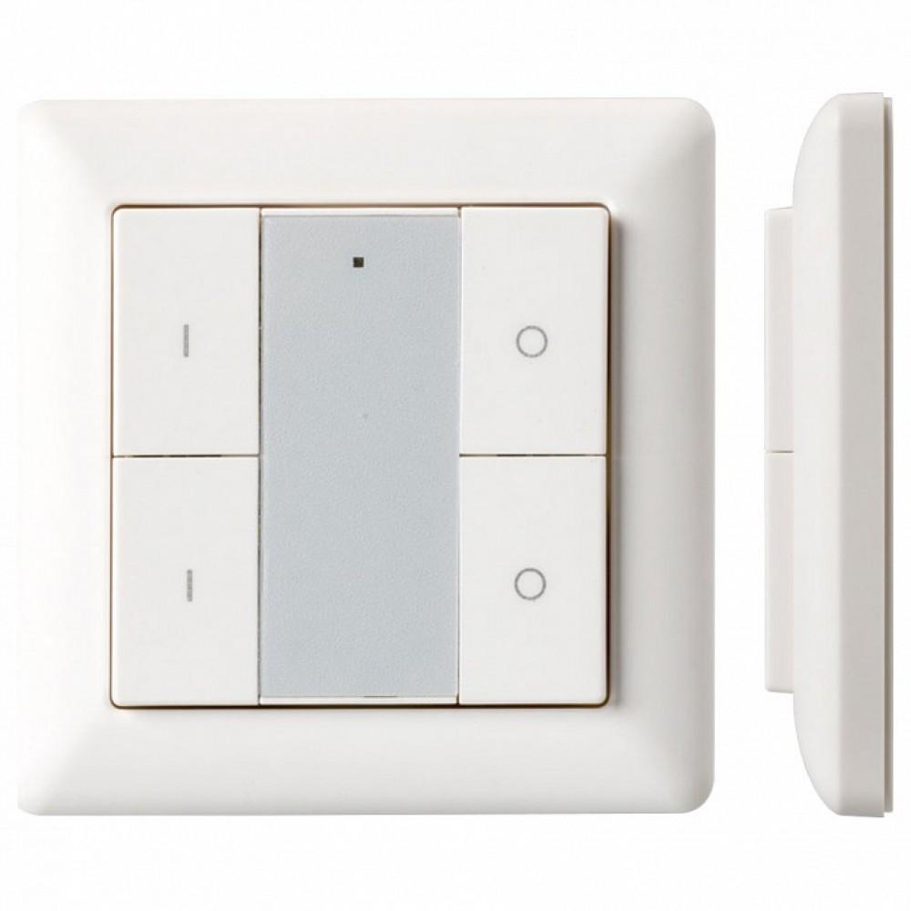 Панель-диммера клавишная накладная Arlight Knob SR-2853K4-RF-UP White (3V, DIM, 2 зоны)