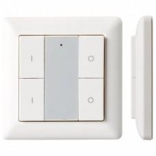 Панель-диммера клавишная накладная Arlight Knob SR-KN9550K4-UP White (KNX, DIM)