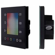Панель-регулятора цвета RGBW сенсорная встраиваемая Arlight SR-2300 SR-2300TP-IN Black (DALI, RGBW)